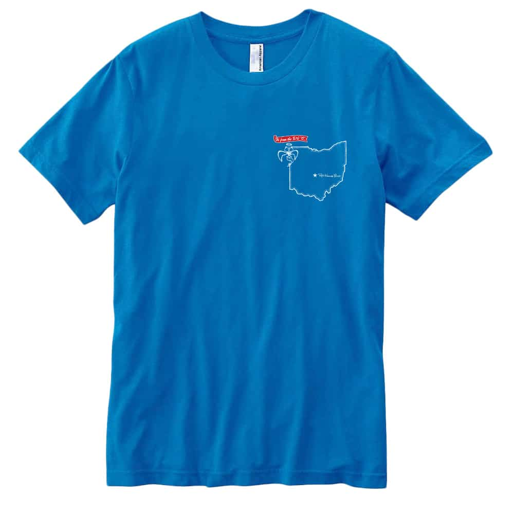 Red Wanting Blue Ohio Flag Shirt Front