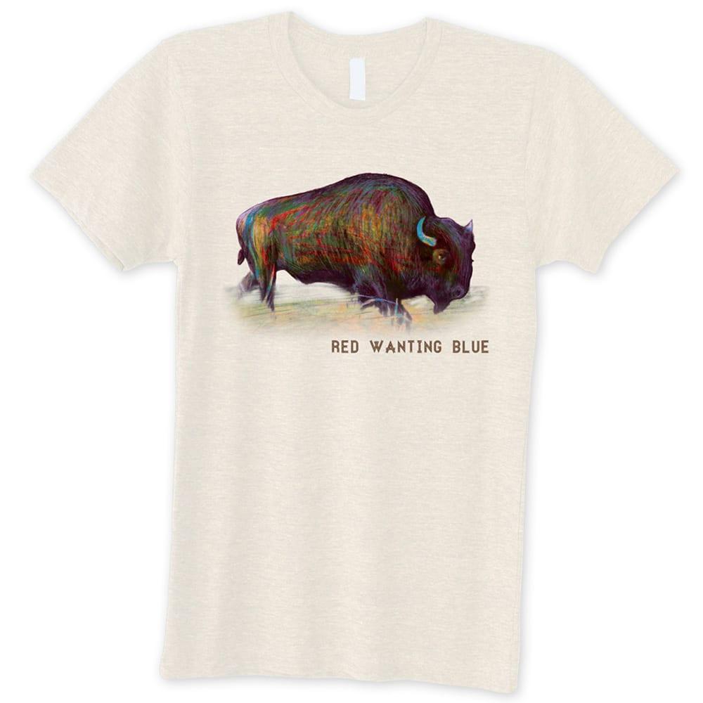 Red Wanting Blue Buffalo Shirt Unisex