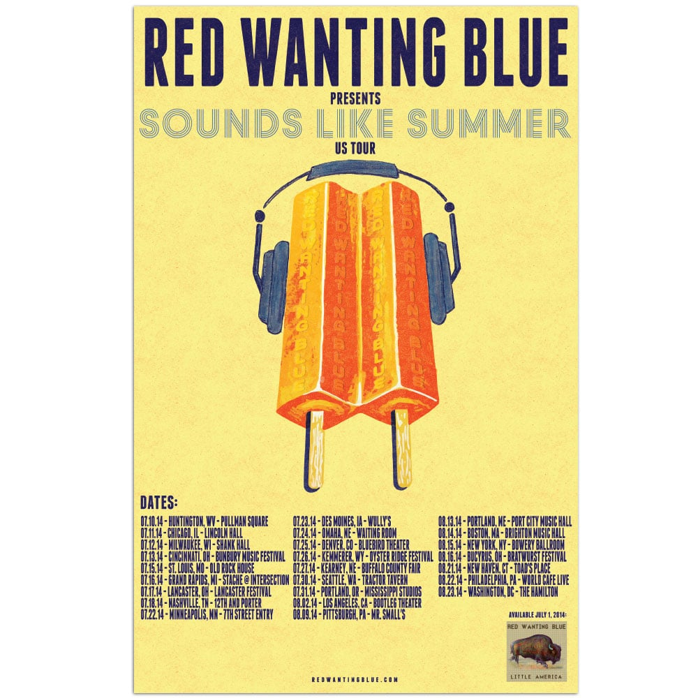 Red Wanting Blue sls-2014
