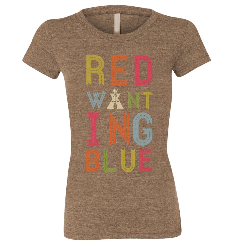 Red Wanting Blue 2015 Shirt Girl