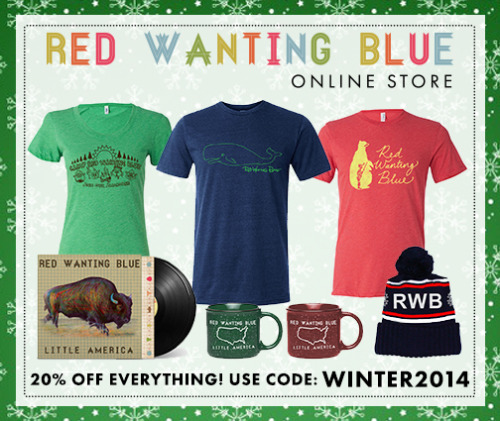 Red Wanting Blue december-store-sale