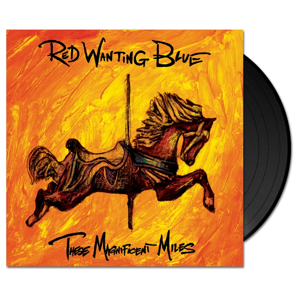 Red Wanting Blue These Magnificent Miles Vinyl