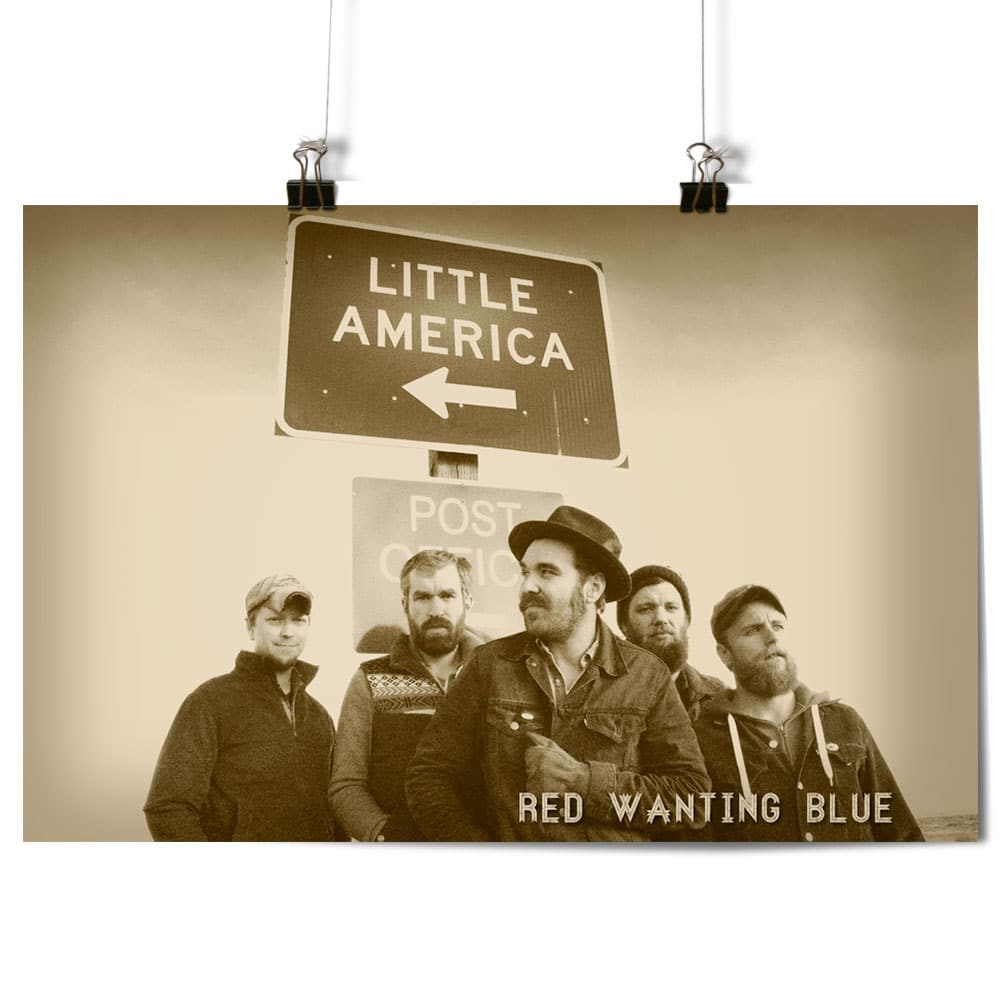 Red Wanting Blue little-america-poster