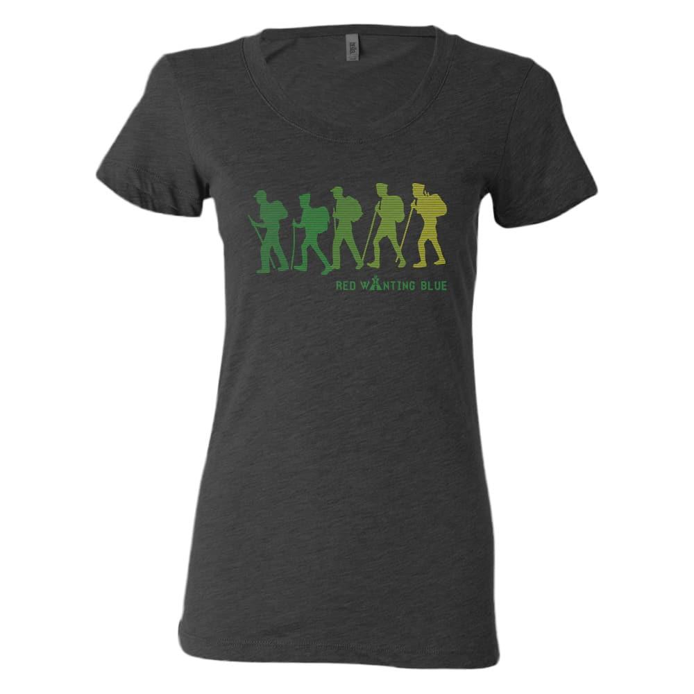 Red Wanting Blue Black Canyon Shirt 2015 Womens